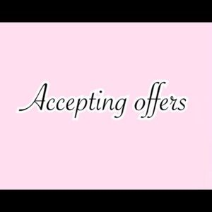🌟Accepting offers🌟